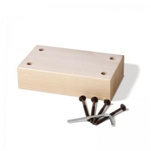 ジュニア用アタッチメント/座面下に装着することにより身長110~140㎝のお子様にもお使いいただけます。